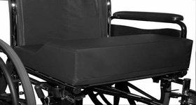 Anti-Thrust wheelchair cushion