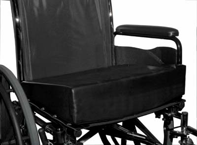 Leveling Foam Wheelchair Cushions Reduce Wheelchair Hammock Effect