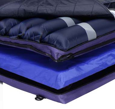 Alternating Pressure Mattress with foam base Model 4300 & Rapid-Air® Plus Model 4300
